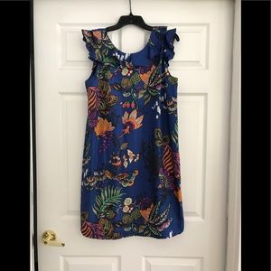 J Crew Silk Dress Size 10